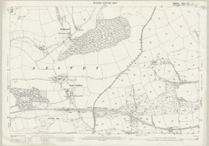Somerset LXVII.5 (includes: Brushford; Dulverton; East Anstey; West Anstey) - 25 Inch Map