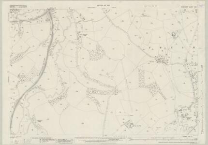 Somerset XXI.2 (includes: Freshford; Hinton Charterhouse; South Stoke; Wellow) - 25 Inch Map