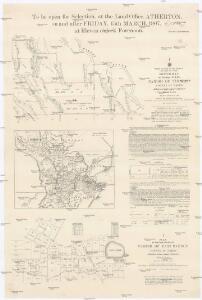 Sketch map of portions 57 & 58 parish of Tinaroo, county of Nares