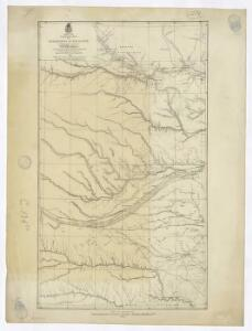 Campaign map of the department of the Platte. sheet no. 1 : comprising that portion of Nebraska