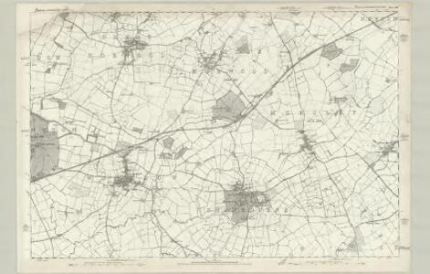 Buckinghamshire XV - OS Six-Inch Map