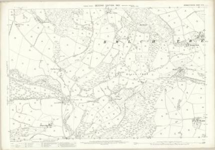 Monmouthshire III.12 (includes: Crucornau Fawr) - 25 Inch Map