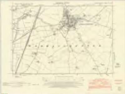 Huntingdonshire XXII.NW - OS Six-Inch Map