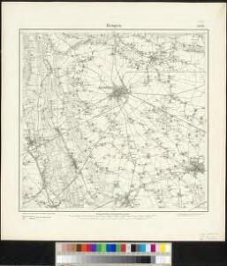 Meßtischblatt 2646 : Kempen, 1894