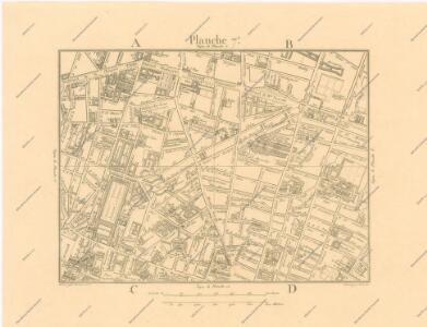 La Topographie de Paris ou Plan détaillé de la Ville de Paris 7
