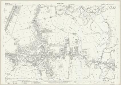 Lancashire CV.14 (includes: Audenshaw; Denton) - 25 Inch Map
