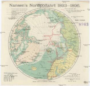 Nansen's Nordpolfahrt 1893-1896