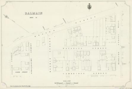 Balmain, Sheet 63, 1890