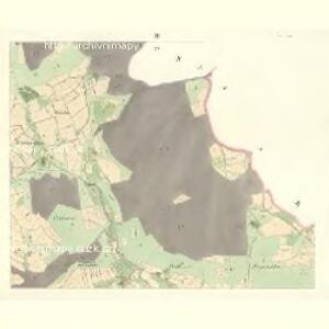 Osnitza - m2209-1-003 - Kaiserpflichtexemplar der Landkarten des stabilen Katasters