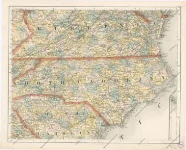 Special -Karte der Vereinigten Staaten von Nord - America No 11.