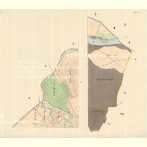 Chorin - m0972-1-004 - Kaiserpflichtexemplar der Landkarten des stabilen Katasters