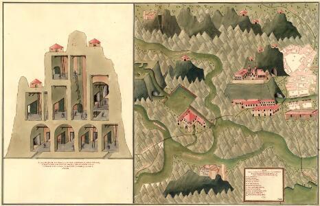 Plan des C. und 5. Bergwerg St. Ulrich an Unter Frauen Bach in Hutthal, in Unter Carnt;