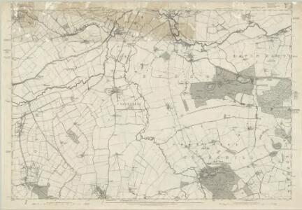 Staffordshire LXXIII.SE - OS Six-Inch Map