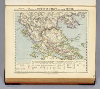 Turkey in Europe, N. Greece.