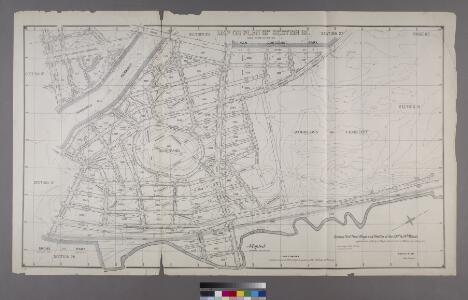 Section 18 of Final Maps and Profiles, of the 23rd & 24th Wards.