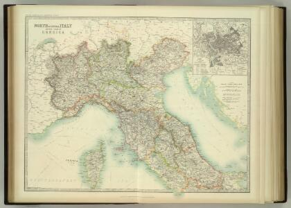 North & Central Italy and Corsica.