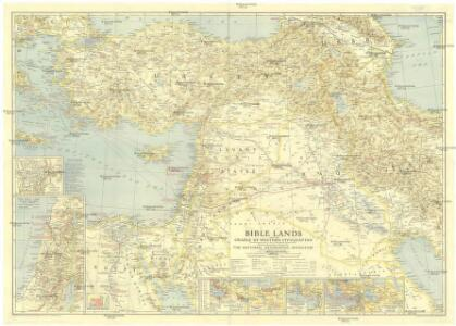 Bible Lands and the cradle of western civilization