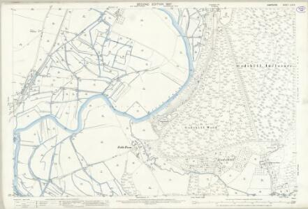 Hampshire and Isle of Wight LIV.16 (includes: Breamore; Fordingbridge; Woodgreen) - 25 Inch Map