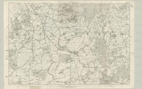 Surrey XXXIX - OS Six-Inch Map