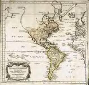 Nouvelle carte des parties occidentales du monde