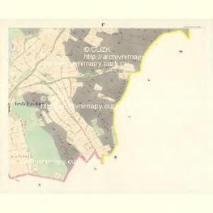 Gross Hitschitz (Welky Hičice) - c8425-1-004 - Kaiserpflichtexemplar der Landkarten des stabilen Katasters