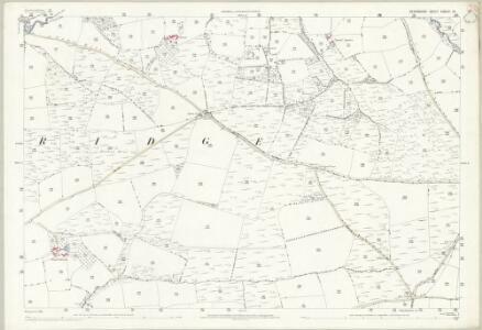 Devon XXXIII.14 (includes: Thelbridge; Witheridge) - 25 Inch Map