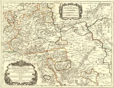Partie Occidentale du Palatinat et Eslectorat du Rhein