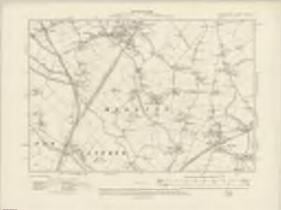 Lancashire XCIX.NE - OS Six-Inch Map