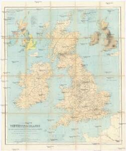 Industrial map of the British Islands