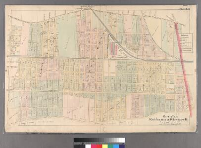 Plate 18: [Bounded by Brooklyn Jamaica Plank Road, Van Wyck Avenue, Liberty Avenue and Wyckoff Avenue.]