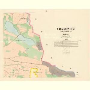 Chanowitz (Chanowice) - c2474-1-003 - Kaiserpflichtexemplar der Landkarten des stabilen Katasters