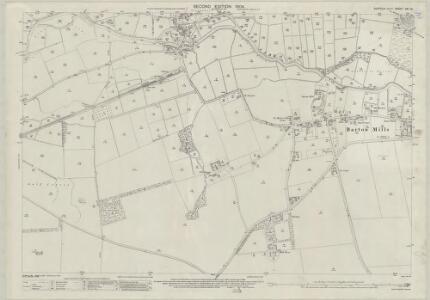 Suffolk XXI.13 (includes: Barton Mills; Mildenhall; Worlington) - 25 Inch Map