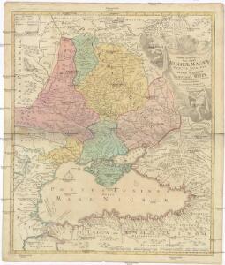 Tabula Geographica QUA PARS RUSSIAE MAGNAE, PONTUS EUXINUS seu MARE NIGRUM et TARTARIA MINOR