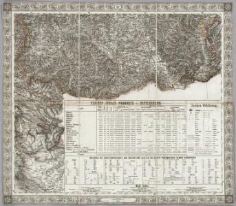 Sheet XIX: Karte Des Oesterreichischen Kaiserstaates.