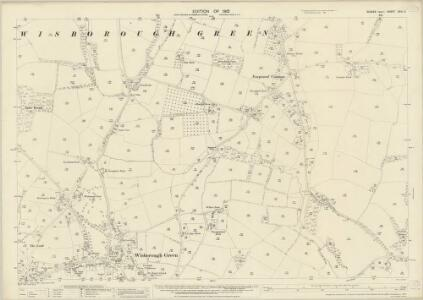Sussex XXIII.3 (includes: Wisborough Green) - 25 Inch Map