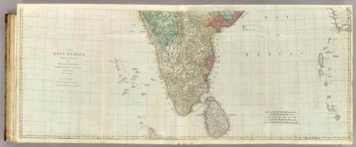 The East Indies, with the roads (southern section).
