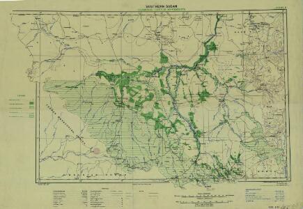 Southern Sudan (1951) Seasonal Cattle Movements