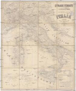 Strade ferrate e navigazione dell' Italia
