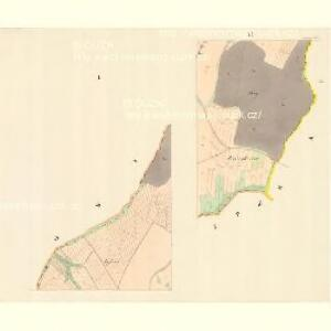 Malhotitz - m1705-1-001 - Kaiserpflichtexemplar der Landkarten des stabilen Katasters