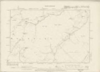 Denbighshire XXXA.SE & XXX.SW - OS Six-Inch Map