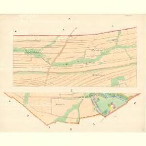 Schönau (Schenow) - m3017-1-004 - Kaiserpflichtexemplar der Landkarten des stabilen Katasters
