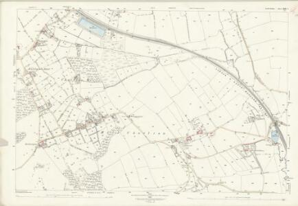 Staffordshire XXIII.2 (includes: Chapel And Hill Chorlton; Madeley; Maer; Swynnerton; Whitmore) - 25 Inch Map