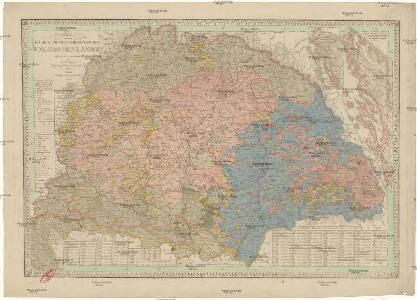 Charte von den kaiserlich oesterreichischen ungarischen Ländern