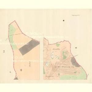 Watzenovitz (Wacenowic) - m3248-1-002 - Kaiserpflichtexemplar der Landkarten des stabilen Katasters