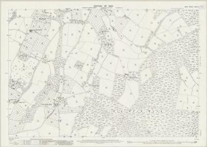 Kent LXII.14 (includes: Goudhurst) - 25 Inch Map