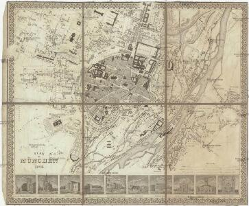 Plan von München