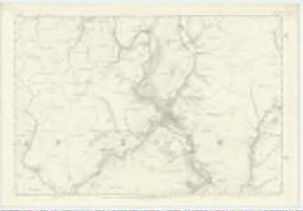 Dumfriesshire, Sheet XLV - OS 6 Inch map