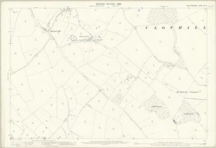 Hertfordshire VIII.13 (includes: Clothall; Weston) - 25 Inch Map