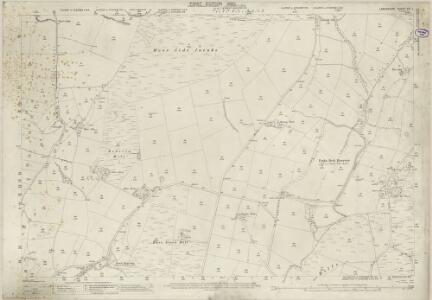 Lancashire XVI.1 (includes: Dalton In Furness; Pennington) - 25 Inch Map