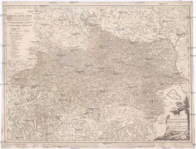 Karte von dem Erzherzogthum Oesterreich oder dem Lande ob und unter der Enns